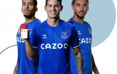 Global financial technology provider partners with Everton FC
