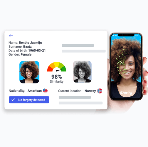 iDenfy provides biometric onboarding for Monneo digital banking platform