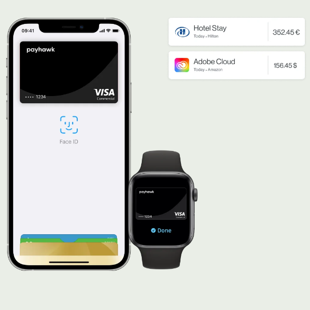 Payhawk announces integration with the digital wallet platform Apple Pay